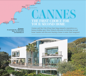 "INTERNATIONAL LIFE MAGAZINE: ""Cannes, the first choice for your second home"""