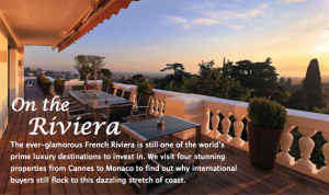 French Riviera still world's prime luxury destination to invest in