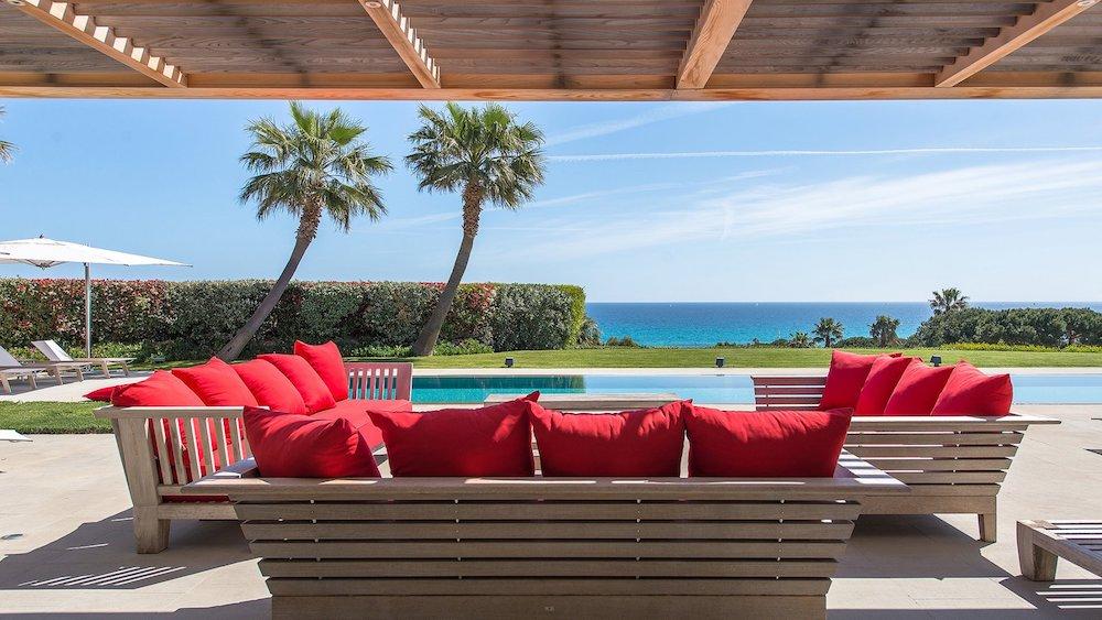Stylish Villa Close to the Beach in Saint Tropez