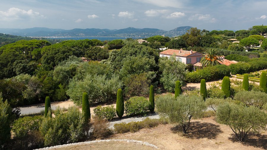 Villa with Heliport in St Tropez