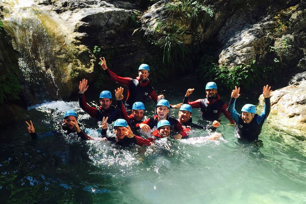 Canyoning French Riviera