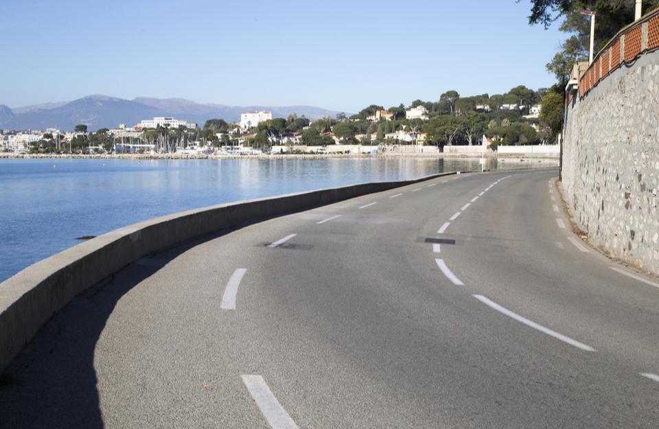 Cap d'Antibes, a road bikers paradise