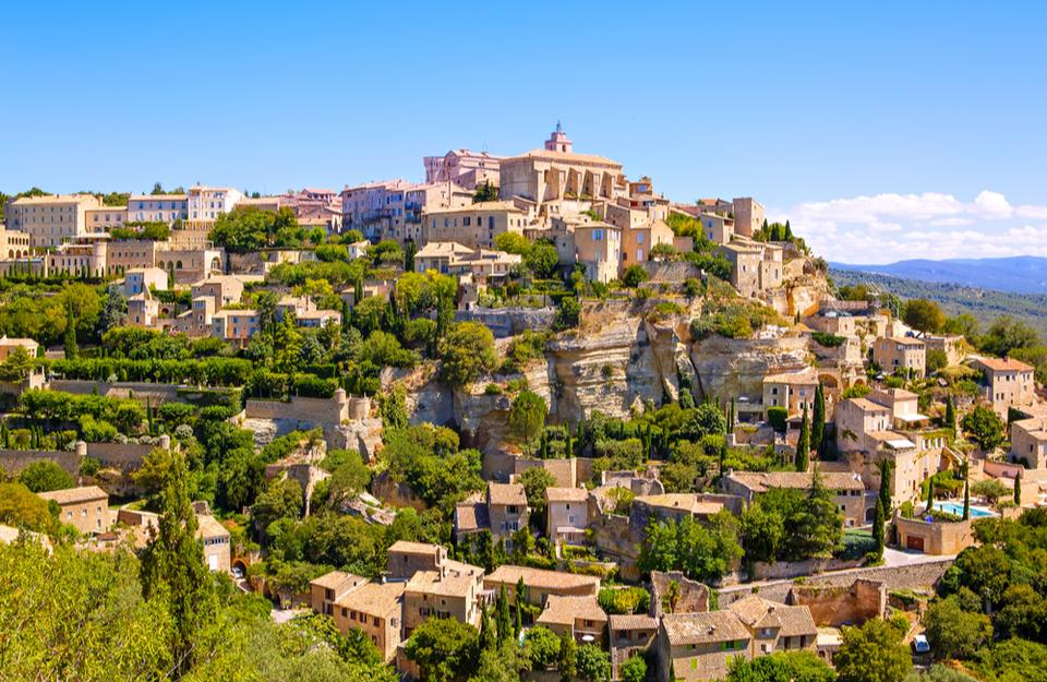 Gordes, a typical Provençal town