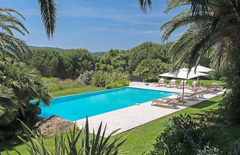 Swimming Pool at Ramatuelle Villa