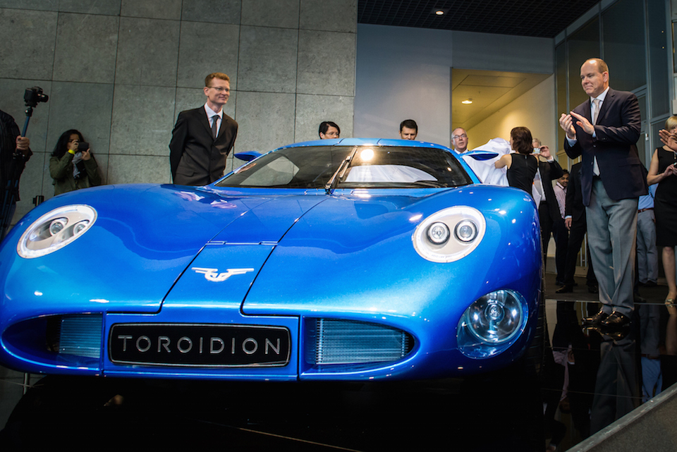 Toroidion at Top Marques Monaco