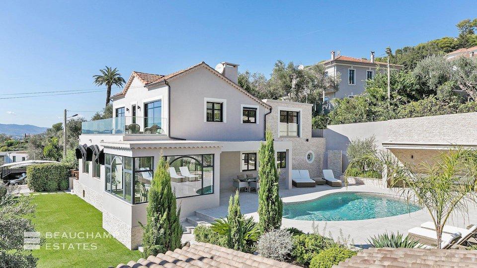 Private Pool at Cannes Villa