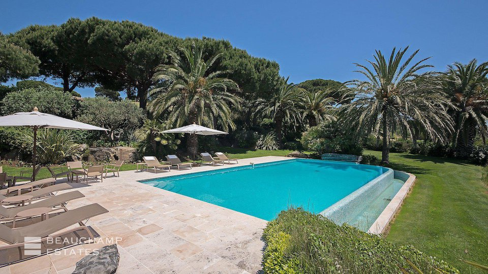 Private Swimming Pool at Villa in Ramatuelle