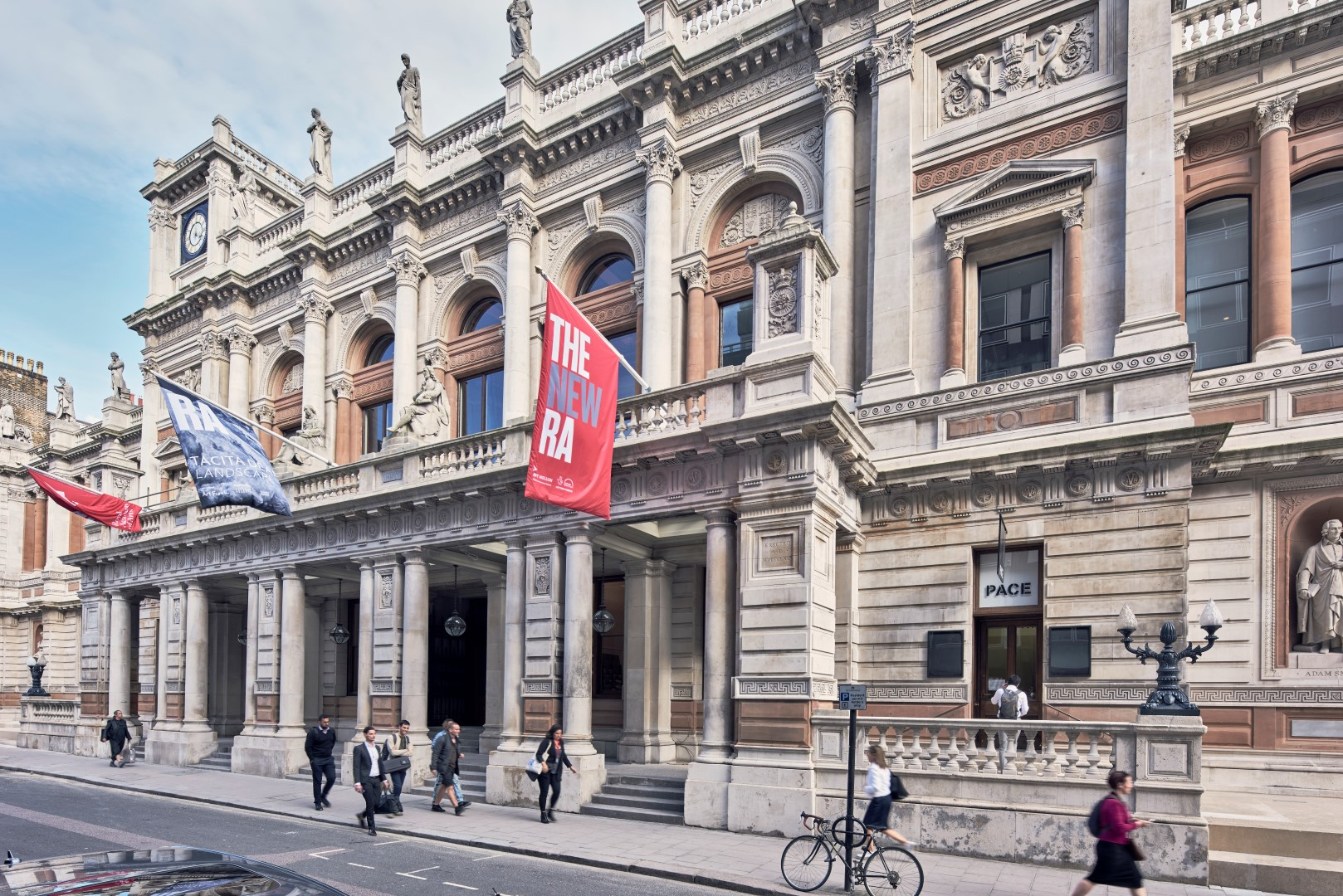 Royal Academy, Burlington House, Picca