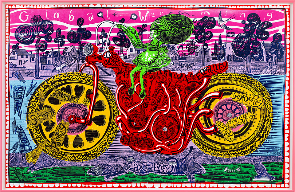 Grayson Perry, Royal Academy, Burlington House, RA, Contemporary Art
