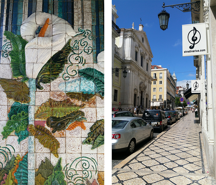 Lisbon, Portugal, Art, Tiles, Local Artists, Culture
