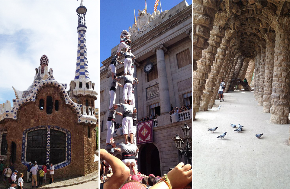 Barcelona, Spain, Spanish Culture, Park Guell, Mosaic