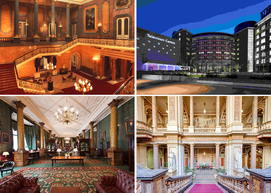 Lancaster House, BBC Television Centre, Foreign & Commonwealth Office, National Liberal Club , London, Open House