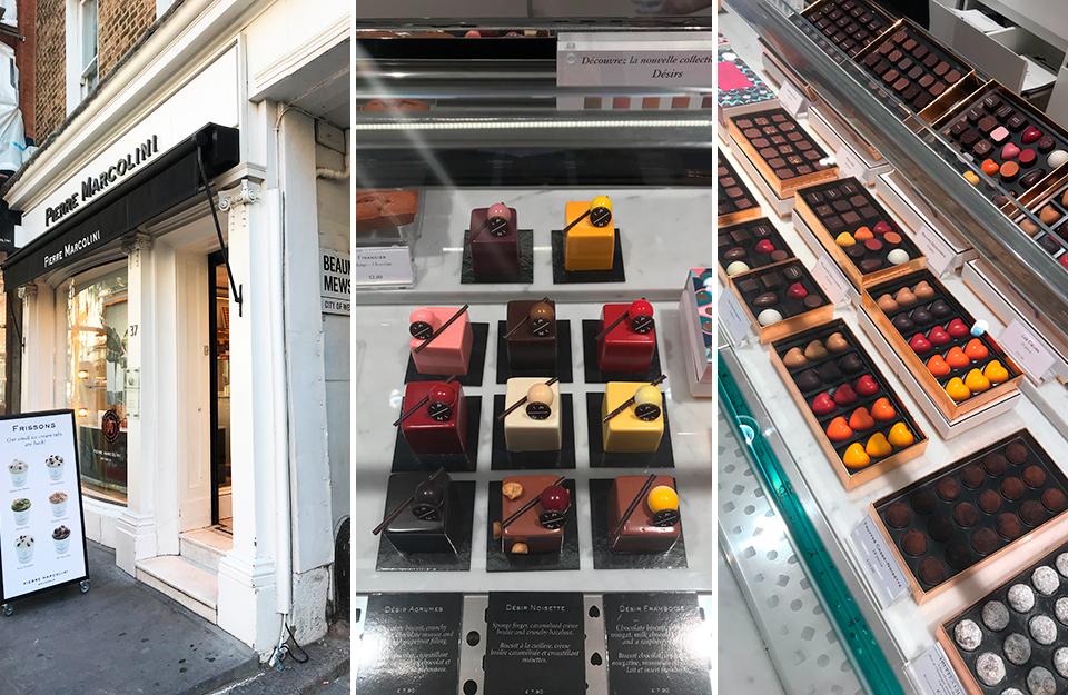 Pierre Marcolini, Marylebone High Street, Marylebone, Ice cream, Chocolates, Cakes, Artisan Cakes, Artisan food, Gelato