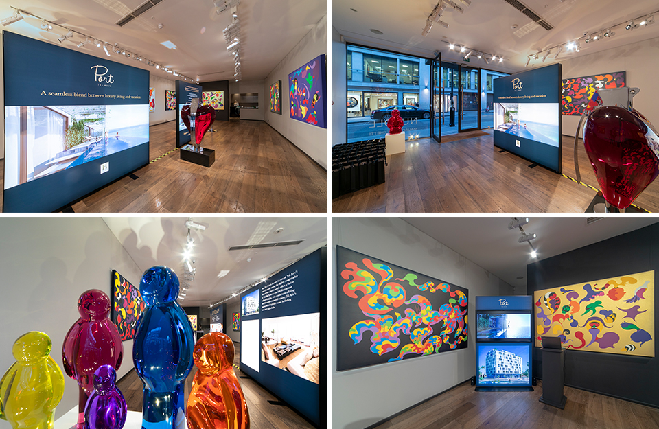 Exclusive London Launch, Launch, Residential Development, Israel, Ilan Pivko, Port Tel Aviv, Mauro Perucchetti, Nuvole ,Alon Zakaim, Fine Art Gallery