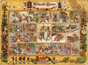 Weihnachts Kalender, Christmas Calendar, Advent Calendar, Advent, Christmas, German, Germany