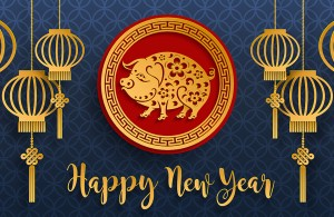'Gong hei fat choy' & welcome to the year of The Pig!