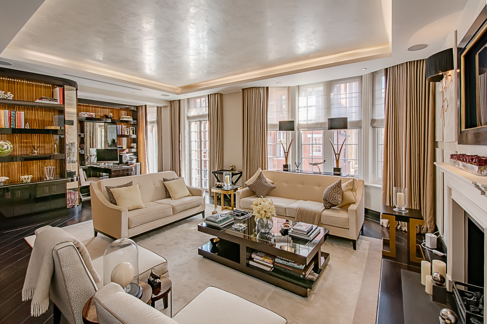 Hans Crescent, Reception room, Knightsbridge, Chelsea, london, Prime central london, Real estate, estate agent