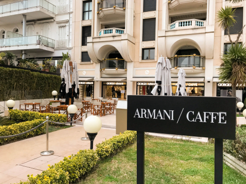 Armani Caffe, Cannes France