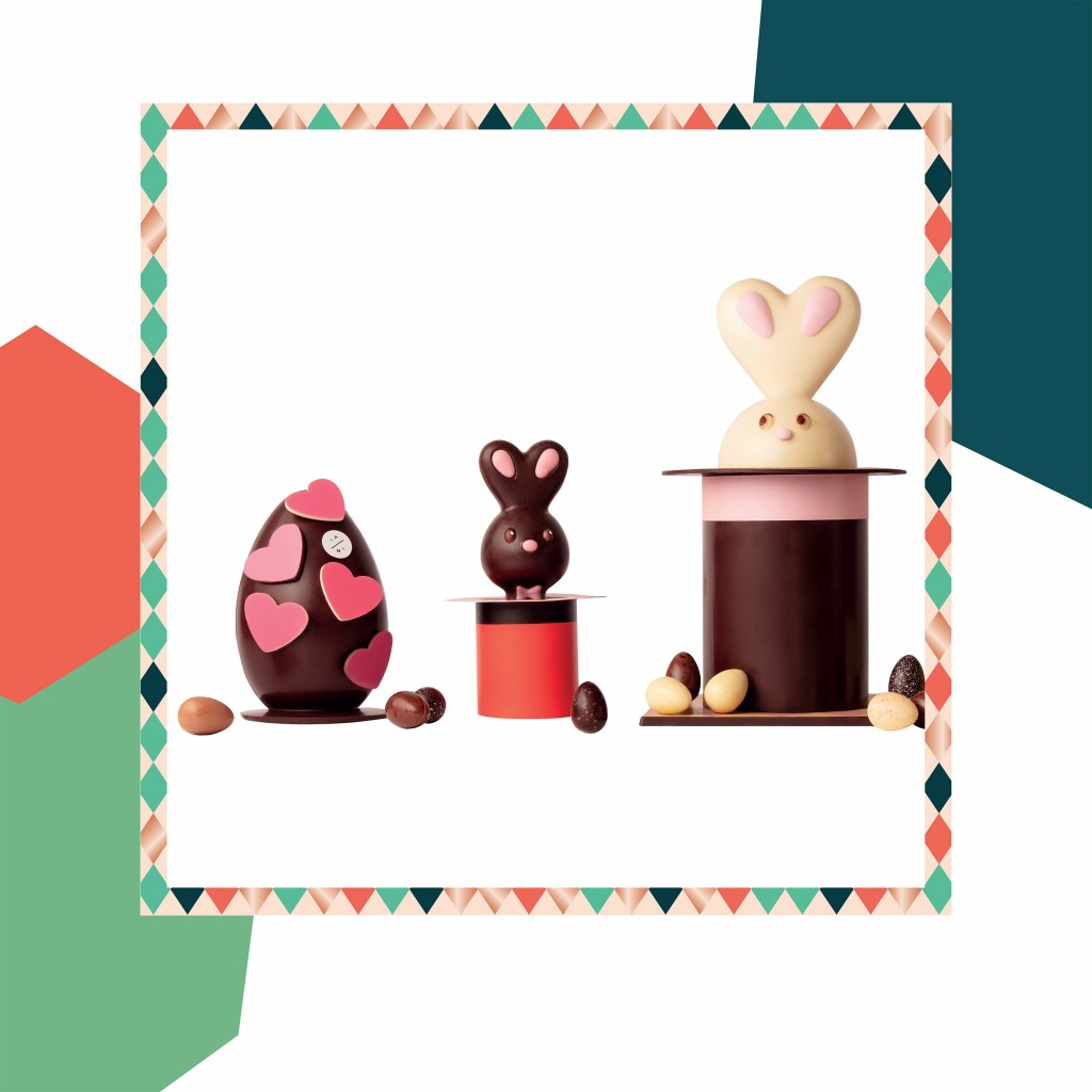 Pierre Marcolini, Easter, Easter Holidays, Chocolate Eggs, Chocolate Bunnies