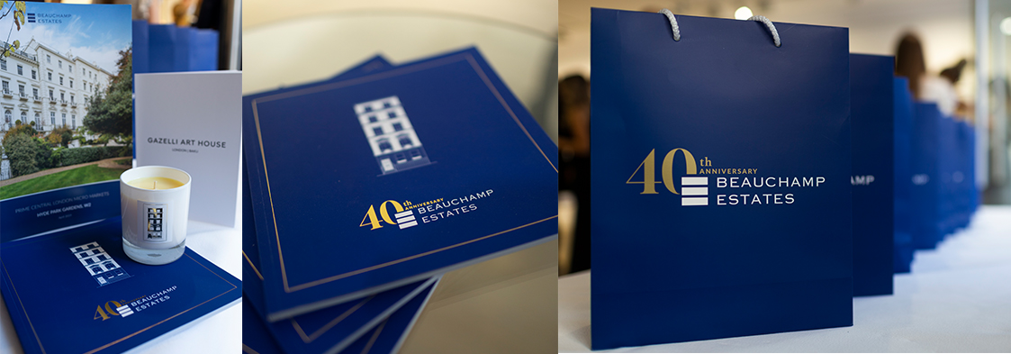 Beauchamp Estates 40th Anniversary Luxe-Brochure