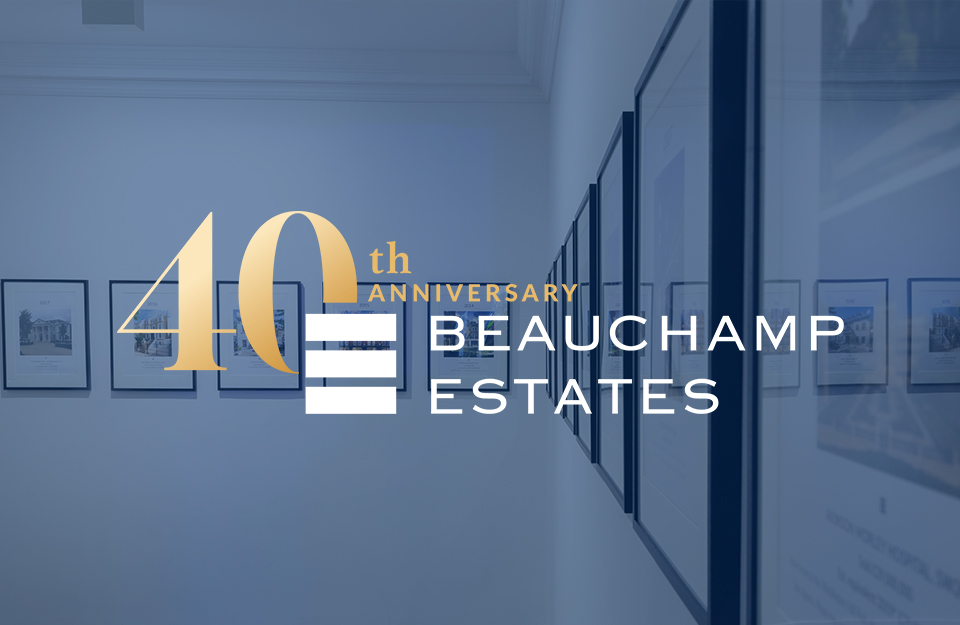 Beauchamp Estates Celebrating 40 Years of Success!