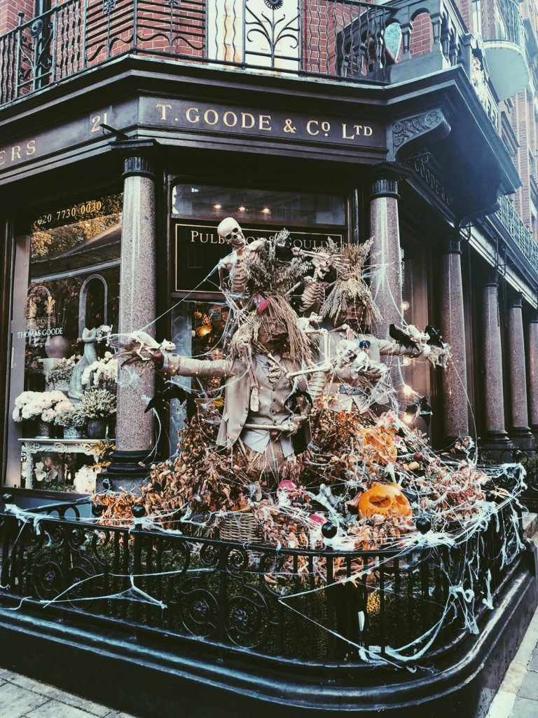 Pulbrook and Gould Halloween Decorations - South Audley Street