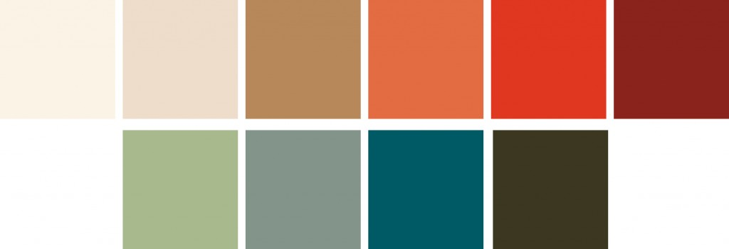 2020 Colour Palette