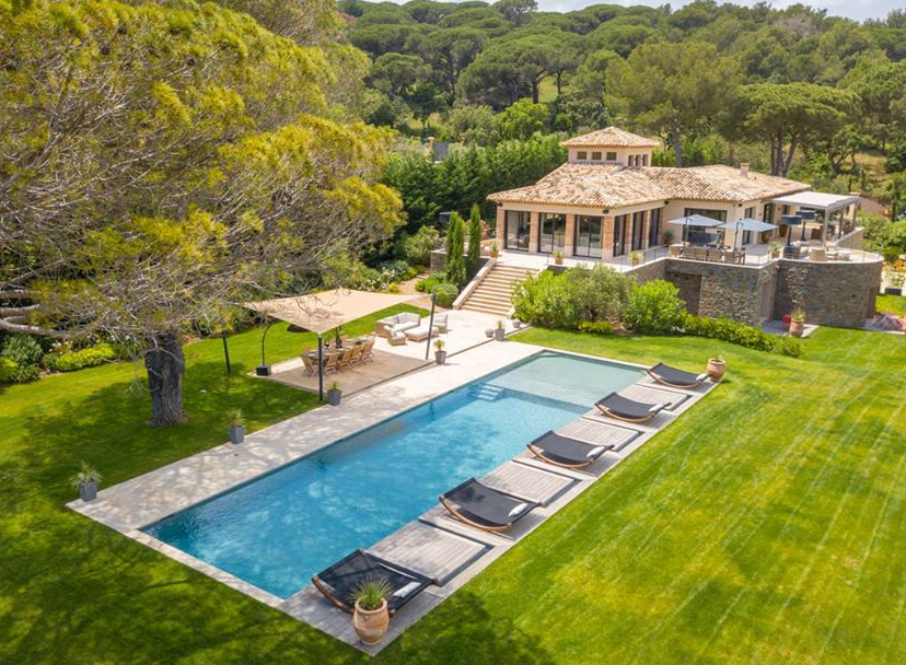 Villa Victoria, located in Saint Tropez. Available for rent. https://www.beauchamp.com/villa-rent-saint-tropez-sumptuous-7-bedroom-holiday-retreat-car1609