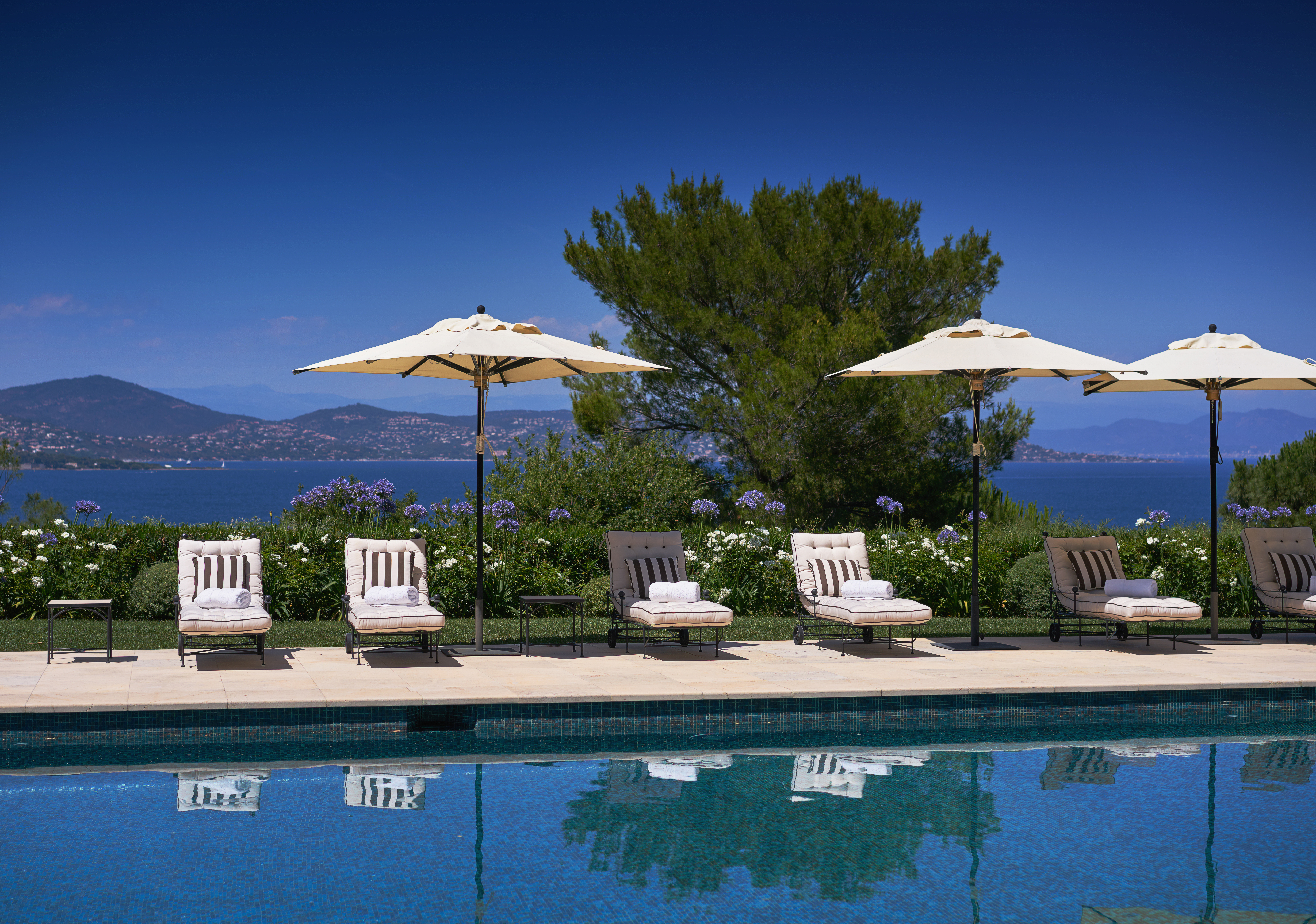Exceptional private residence for sale, located in Les Parcs of Saint Tropez https://www.beauchamp.com/buy-property/france/st-tropez-for-sale/villa-sale-exceptional-residence-cab1699