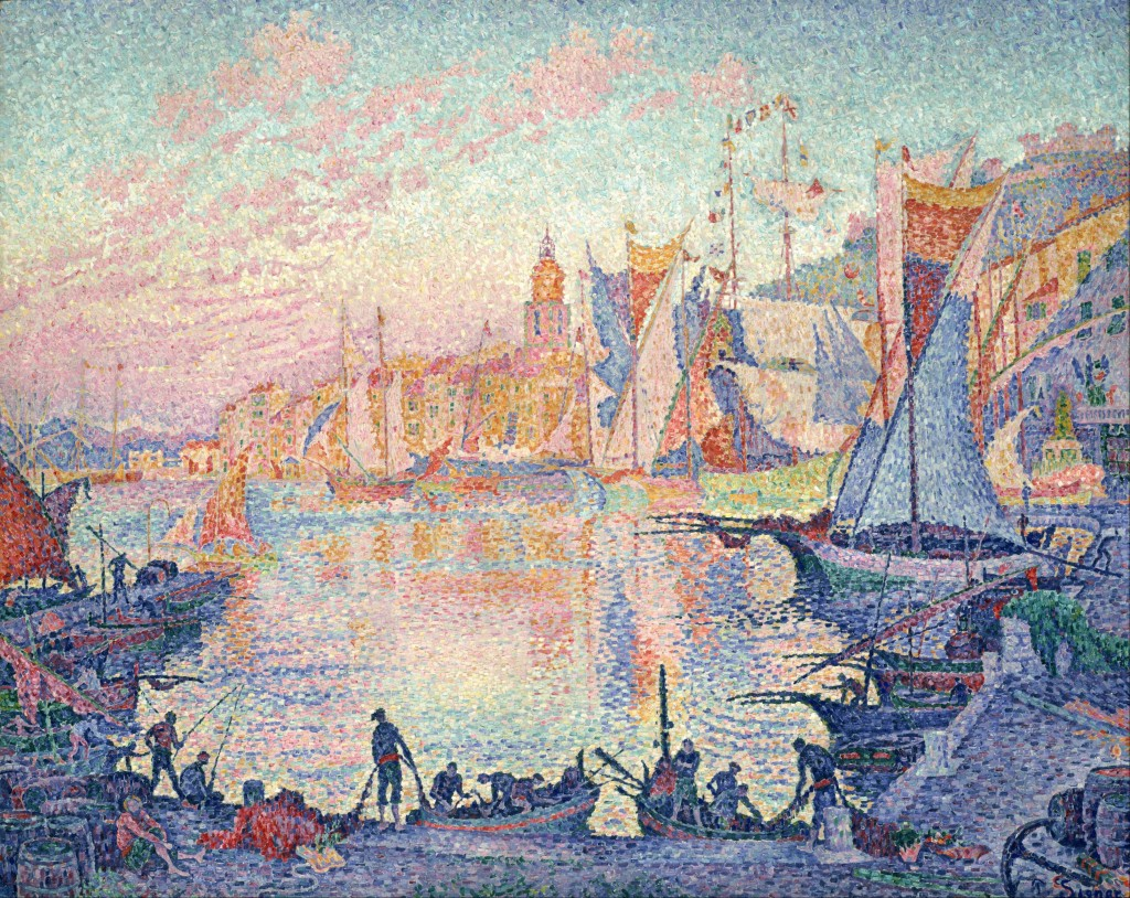 Saint Tropez by Paul Signac