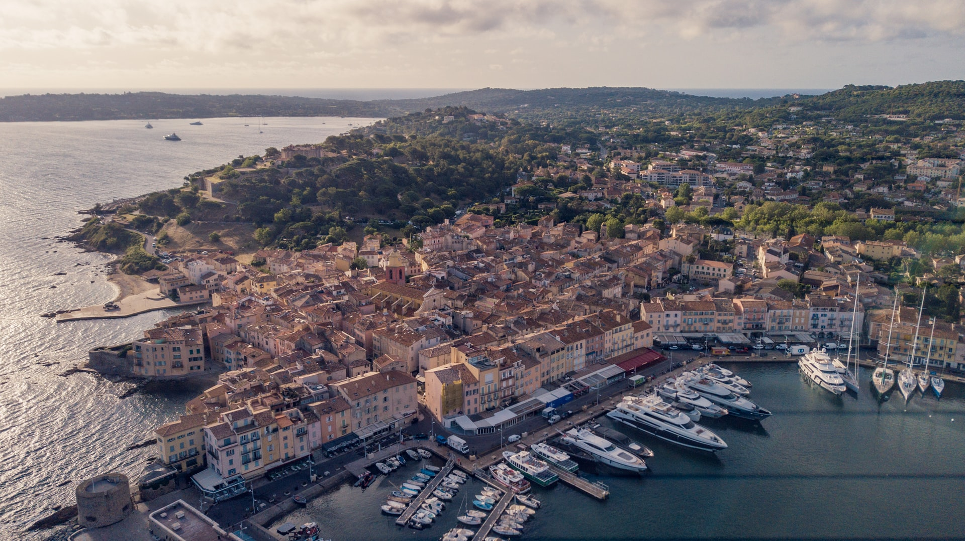 The Port of Saint Tropez