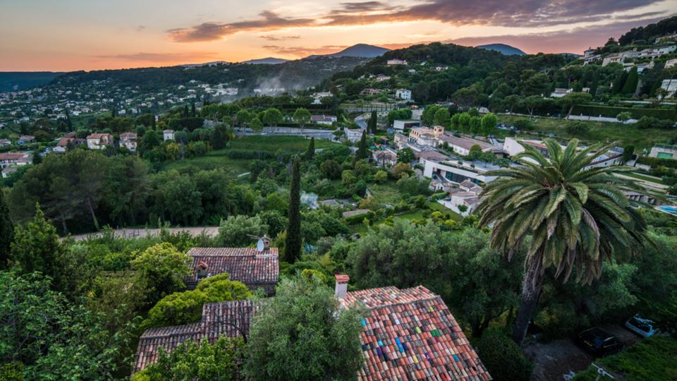 French Riviera Hillside Accommodation